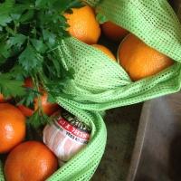 les sacs en filets pour remplacer le plastique !