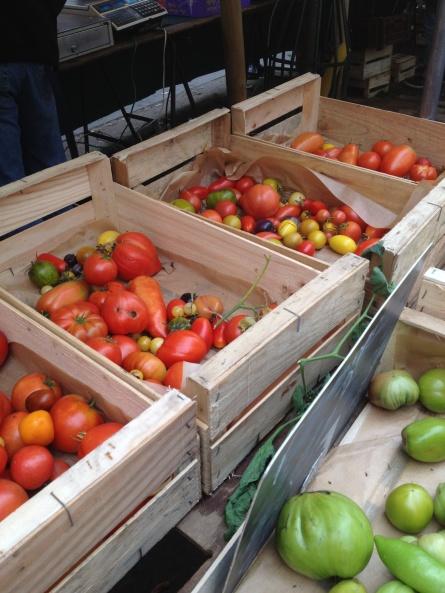 Les tomates du maraîcher