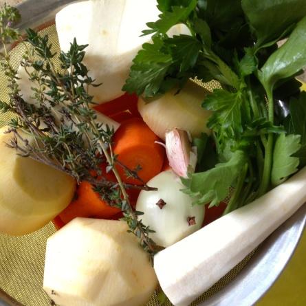 Les légumes du pot-au-feu