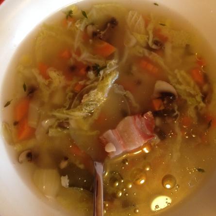 La soupe aux restes