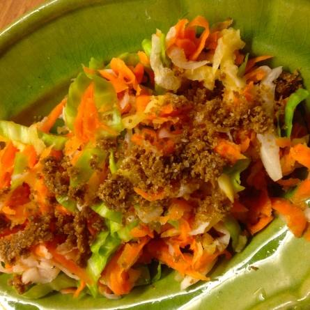 Légumes salés à la japonaise