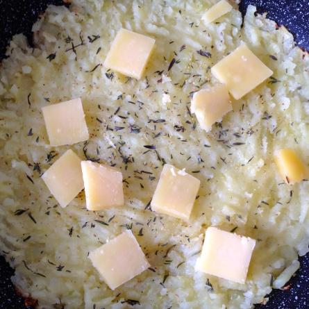 On peut ajouter du fromage