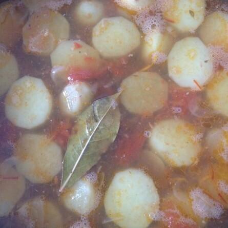 La soupe cuit doucement