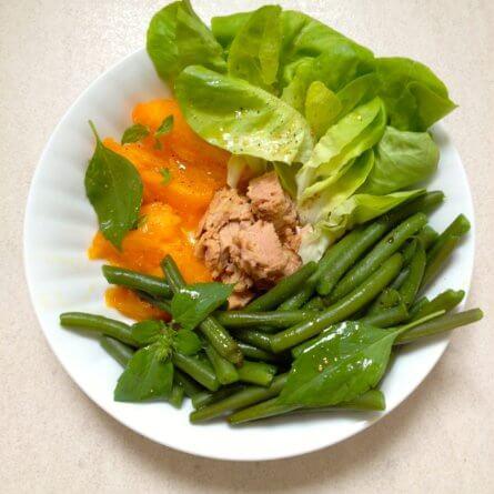Salade ( petite) d'été