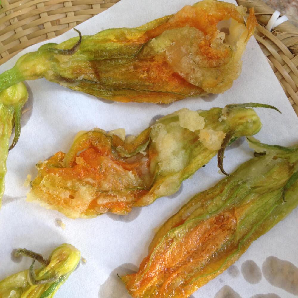 c'est raté! tempura tout mous!